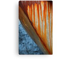 Rust Works Canvas Print