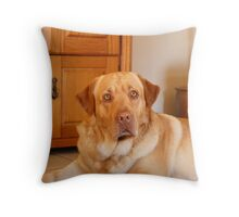 Yes master ? Throw Pillow