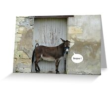 Hello from France Greeting Card