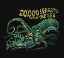 Walt Disney Jules Verne 20,000 Leagues Under The Sea Nautilus by The Department Of Citrus