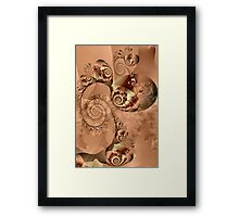 Exquisite Sepia Image 2 + Parameter Framed Print