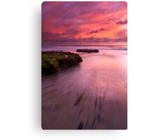Fingers of the Tide Canvas Print