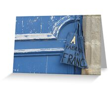 My little French bag Greeting Card