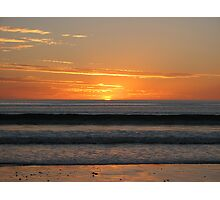 Silver Sands Sunset Photographic Print