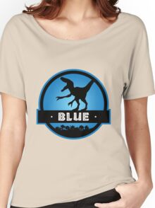 Velociraptor Blue Squad Women's Relaxed Fit T-Shirt