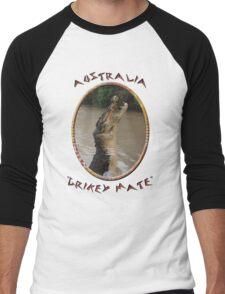 Jumping Croc Australia Men's Baseball ¾ T-Shirt