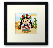 Maria 1 (Mexican Doll) Framed Print