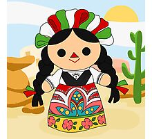 Maria 1 (Mexican Doll) Photographic Print