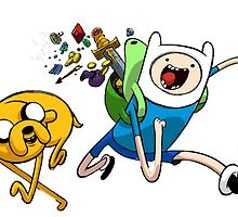 Adventures With Finn and Jake by StarQueen1998