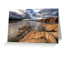 Clouds and Lake Greeting Card