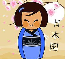 Kokeshi Mizuki by alapapaju