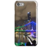 The Rainbow Bridge - Brisbane Qld Australia iPhone Case/Skin