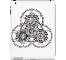 Triangle Mandala tribal meditation iPad Case/Skin