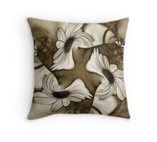 Dancing Coneflowers Throw Pillow