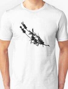 silhouette lavender Unisex T-Shirt