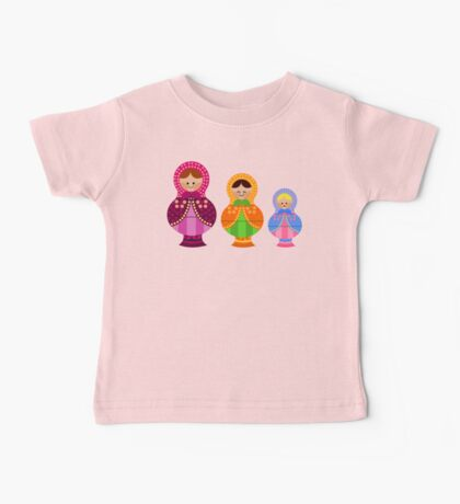 Matrioskas 2 (Russian dolls 2) Baby Tee