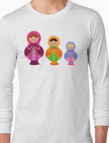 Matrioskas 2 (Russian dolls 2) Long Sleeve T-Shirt