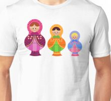 Matrioskas 2 (Russian dolls 2) Unisex T-Shirt