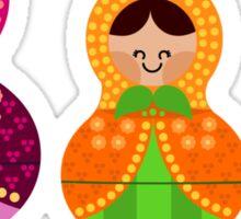 Matrioskas 2 (Russian dolls 2) Sticker