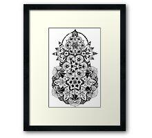 Forest Mandala Framed Print