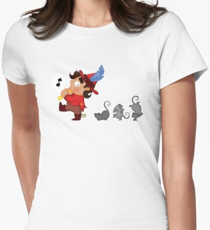 The Pied Piper of Hamelin Womens Fitted T-Shirt