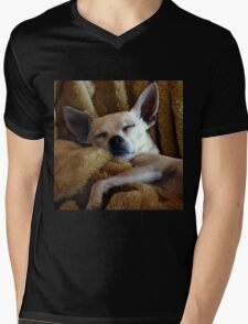 Skinny And His Blankie Mens V-Neck T-Shirt