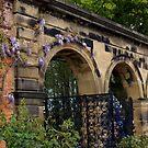 Alnwick Gardens, walled garden gateway by BronReid