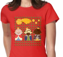 Three Kings Womens Fitted T-Shirt