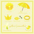 Colors: yellow (Los colores: amarillo) by alapapaju