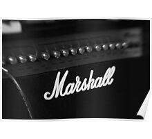 Marshall Amp Poster