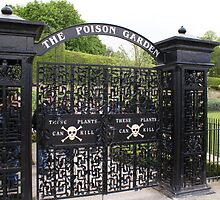 Alnwick Gardens, Northumberland, Poisons Garden gate by BronReid