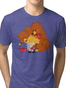 Goldilocks and the Three Bears Tri-blend T-Shirt