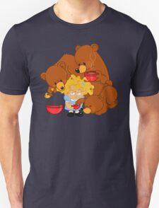 Goldilocks and the Three Bears Unisex T-Shirt