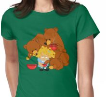 Goldilocks and the Three Bears Womens Fitted T-Shirt