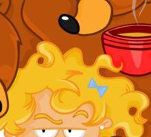 Goldilocks and the Three Bears Sticker