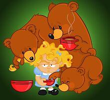 Goldilocks and the Three Bears by alapapaju