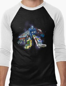 Defender of the Nerdverse Men's Baseball ¾ T-Shirt