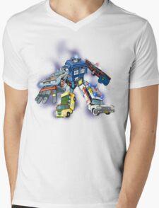 Defender of the Nerdverse Mens V-Neck T-Shirt