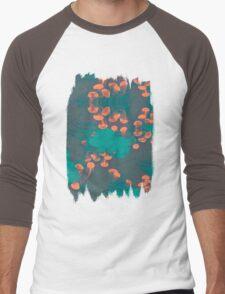 Medusa / Crazy Jellyfish Blue Atoll Men's Baseball ¾ T-Shirt
