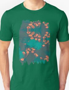 Medusa / Crazy Jellyfish Blue Atoll T-Shirt