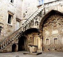 Ornate Stairs by Elena Skvortsova