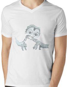 idle minds Mens V-Neck T-Shirt
