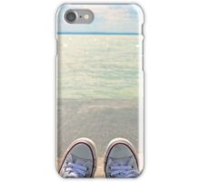 my converse & lakeshore iPhone Case/Skin