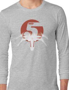 Red 5 Long Sleeve T-Shirt
