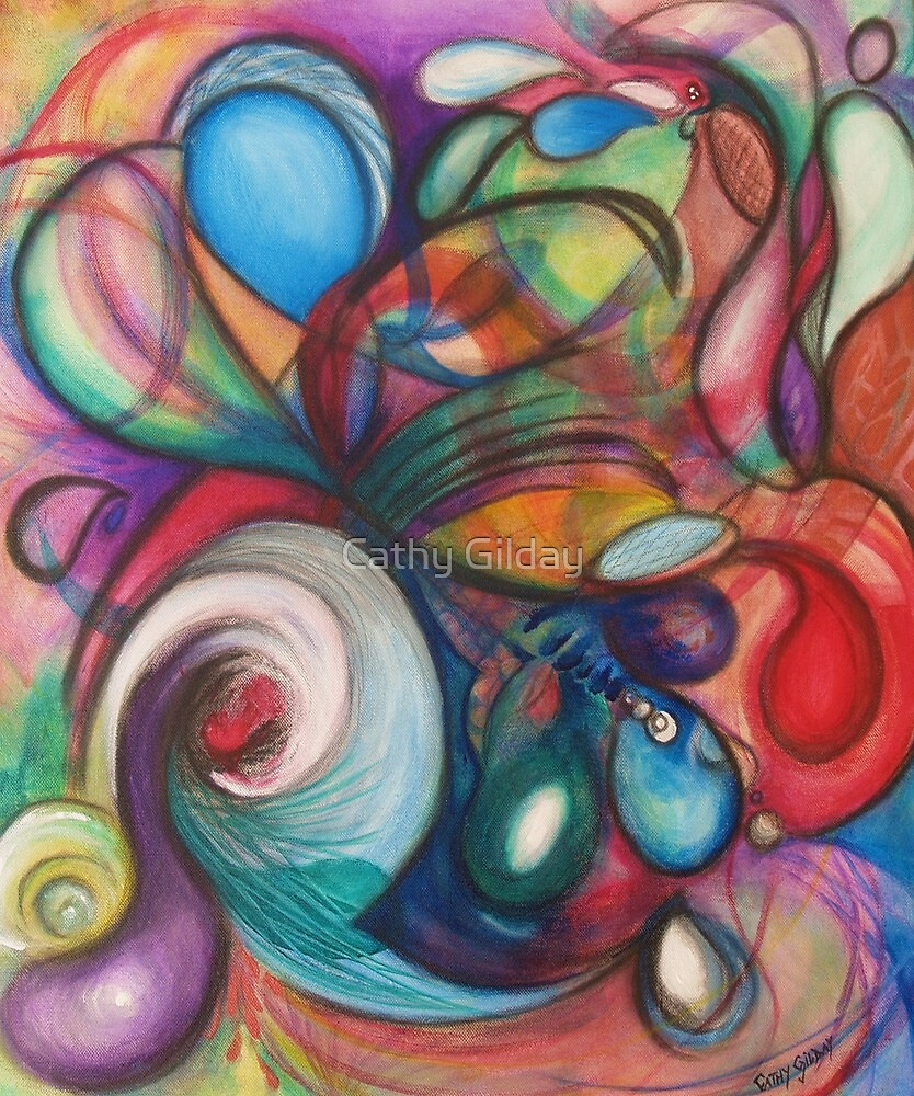 A Colourful Melody by Cathy Gilday