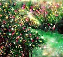 THE MAGICAL GARDEN** ITS A WONDERFUL WORLD ..LOUIE ARMSTRONG by Sherri     Nicholas