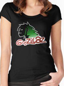 Godzillaz Women's Fitted Scoop T-Shirt
