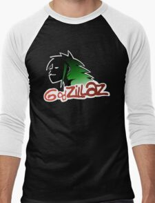 Godzillaz Men's Baseball ¾ T-Shirt