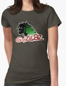 Godzillaz Womens Fitted T-Shirt
