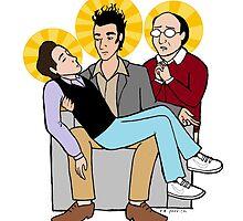 Seinfeld Pieta by reparrish